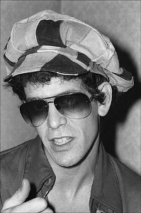 lou reed casquette