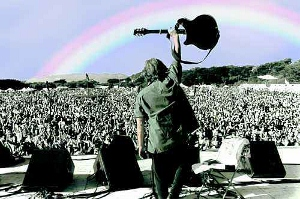 woodstock arc en  ciel